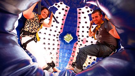 Harness Zorbing For Two In Cheshire
