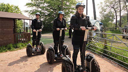 Midweek Segway Safari for Two in Cheshire