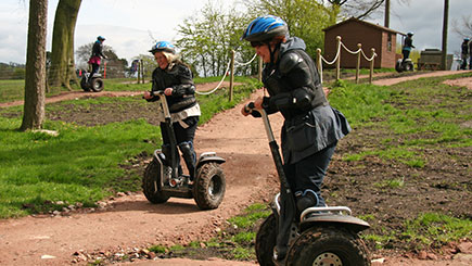 Segway Safari For Two In Cheshire