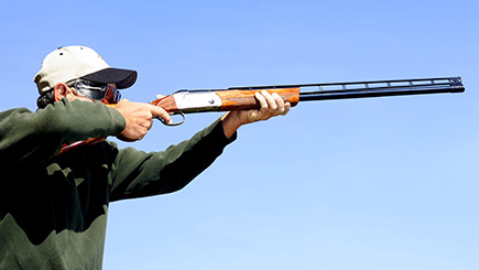 Clay Pigeon Shooting for Two in North Yorkshire