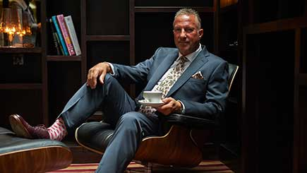 Mens Superior Tailoring Experience In London