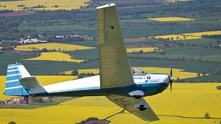 30 Minute Motor Glider Flight in Oxfordshire