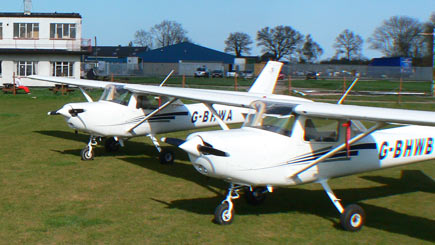 60 Minute Light Aircraft Flight in Lincolnshire