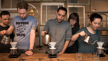 Signature Coffee Masterclass in London