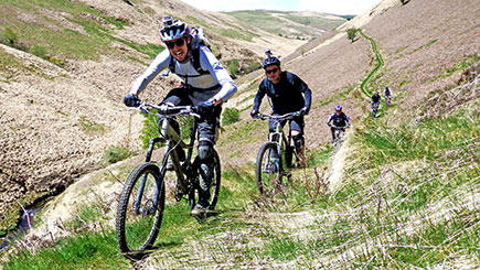 Two Night Mountain Biking Adventure for Two in Wales