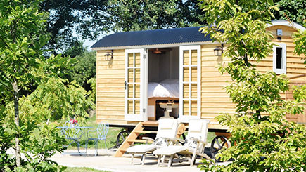 Two Night Shepherd's Hut Break for Two in Somerset