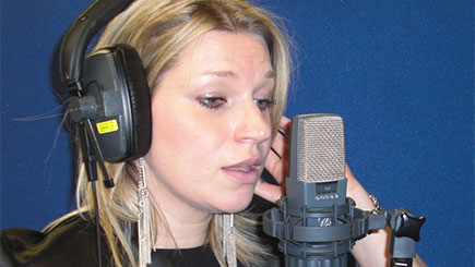 Singing Lesson and Recording Studio Session in London