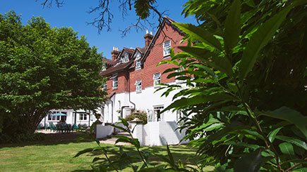 Hotel Escape with Dinner for Two at Moorhill House, Hampshire