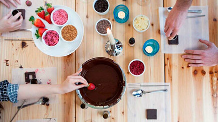 The Original Chocolate Making Workshop for Two in London