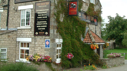 Two Night Hotel Escape for Two, The New Inn at Cropton, North Yorkshire