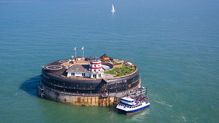 History Tour and Lunch at No Man's Fort in the Solent