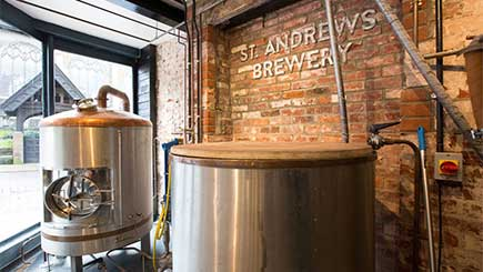 Two Brewers for a Day at St. Andrews Brew House, Norwich