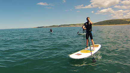 Stand Up Paddleboarding Island Tour in Devon