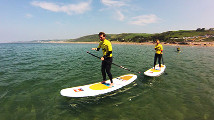Stand Up Paddleboarding Island Tour for Two in Devon