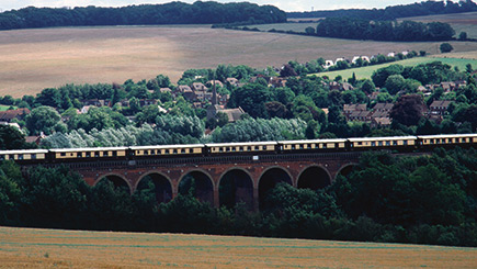 Belmond British Pullman Golden Age of Travel Steam Train Lunch for Two