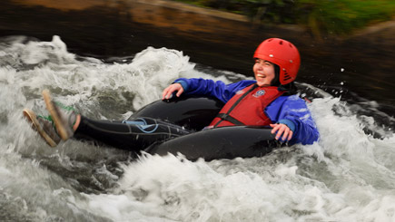 Family White Water Tubing In Northamptonshire