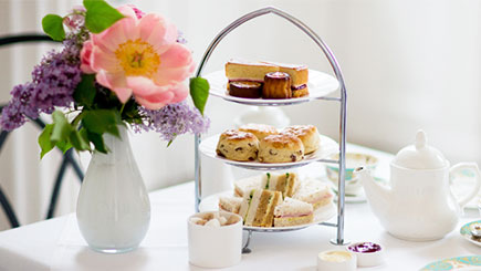 Sparkling Afternoon Tea for Two at  Newton House Hotel