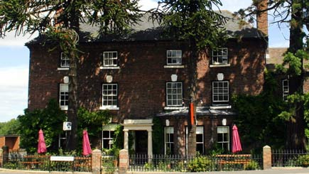 Two Night Hotel Escape for Two at The Old Orleton Inn, Shropshire