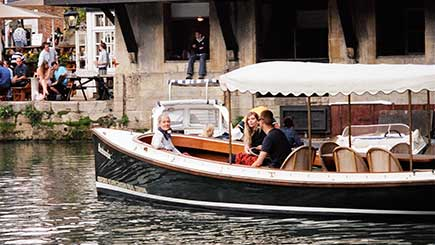 Oxford River Cruise And Dinner At The Folly For Two