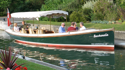Lunchtime Oxford Picnic Cruise For Two