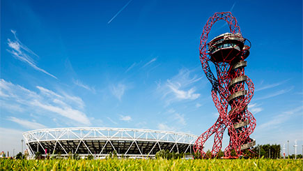 The Slide at The ArcelorMittal Orbit with Hot Drink and Cake for Two, London