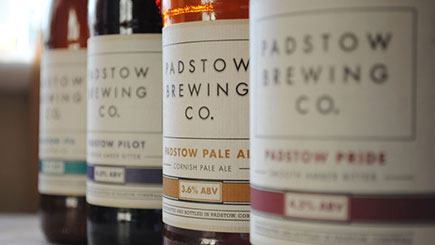 Brewery Tour for Two at Padstow Brewing Company