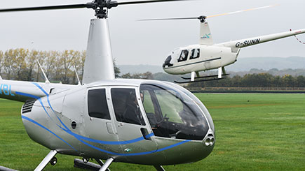 60 Minute Helicopter Tour of Portsmouth and the Isle of Wight