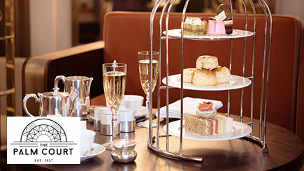 Champagne Bird Cage Afternoon Tea for Two at Park Lane Hotel in Mayfair