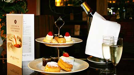 Champagne Afternoon Tea for Two at The Plough and Harrow Hotel