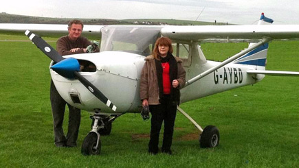 60 Minute Light Aircraft Flight in West Sussex