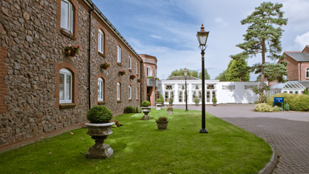 Hotel Escape with Dinner for Two at Quorn Country House Hotel