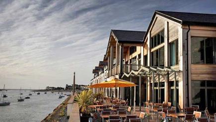 Boutique Escape with Dinner for Two at Quay Hotel and Spa, Conwy