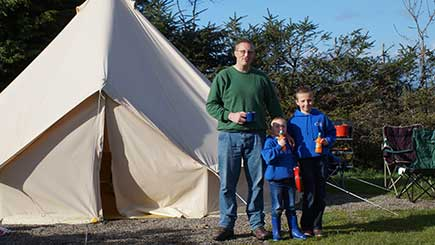 Two Night Stay in a Bell Tent for Two in The Lake District