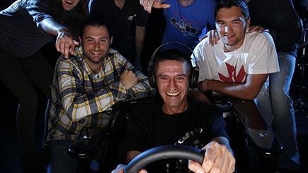 Motor Racing Simulator Party for Ten