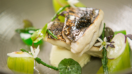 Three-Course Dinner with Champagne for Two at The Royal Crescent Hotel, Bath