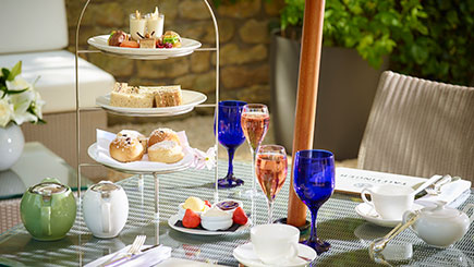 Champagne Afternoon Tea for Two at The Royal Crescent Hotel, Bath