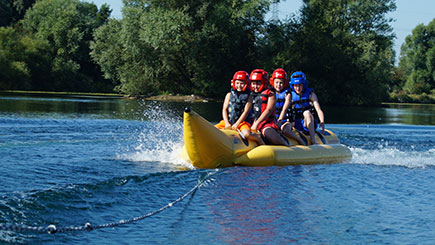15 Minute Banana Boat Ride for up to Five People, Bedfordshire