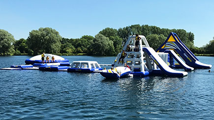 Aquapark Blast for One in Bedfordshire