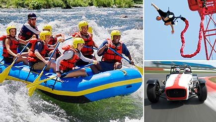 Perfect for Thrill Seekers Gift Voucher
