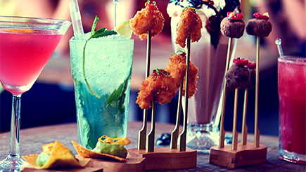 Revolution Bars Cocktail Masterclass and Three-Course Meal for Two in Manchester