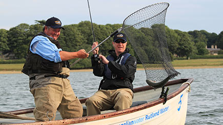 Fly Fishing on Rutland Water