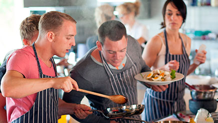 Evening Cookery Class In Greater Manchester