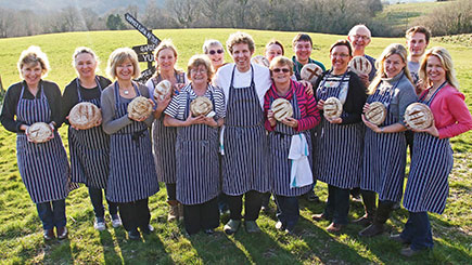 Bread Making At Hugh Fearnley-whittingstalls River Cottage