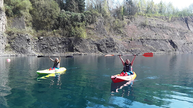 Family Kayaking Experience For Two Adults And Two Children