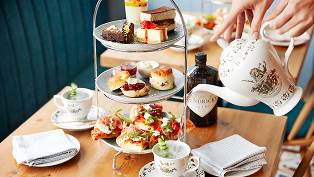 Hendricks Gin Afternoon Tea At Bella Italia For Two