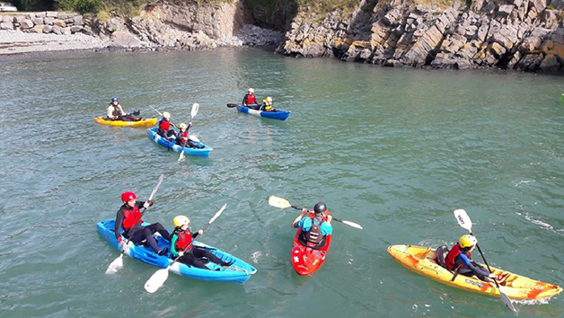 Sea Kayaking Or Coasteering Experience For Two People With Activity Pembrokeshire