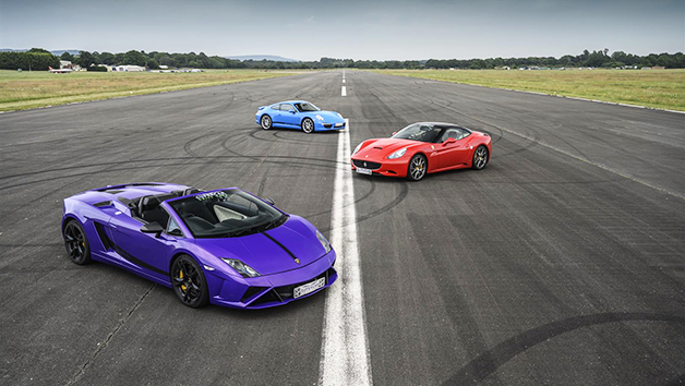 Triple Supercar Driving Thrill  Week Round