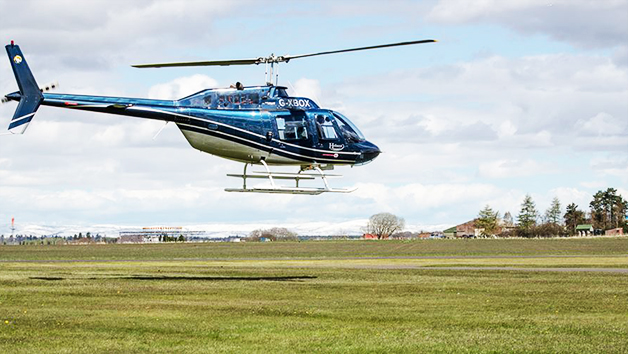 12 Mile Helicopter Tour for One with Bubbly