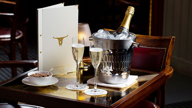 Three Course Champagne Celebration Meal At Marco Pierre Whites London Steakhouse Co Restaurant