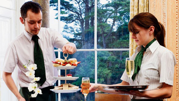 Champagne Afternoon Tea At Cricket St Thomas Hotel For Two
